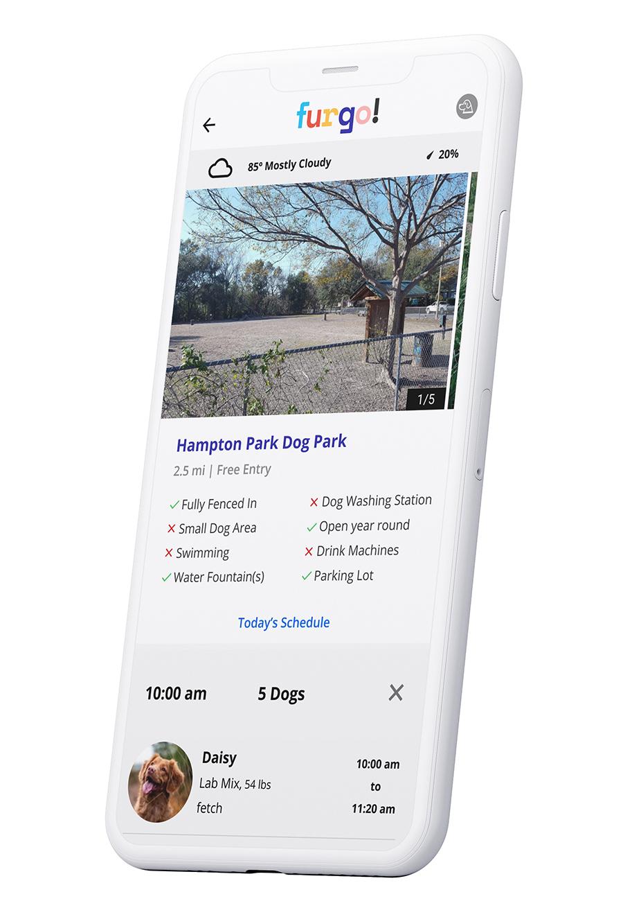 Furgo dog park app