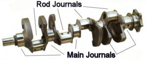 Engine Bearing Replacement Crankshaft