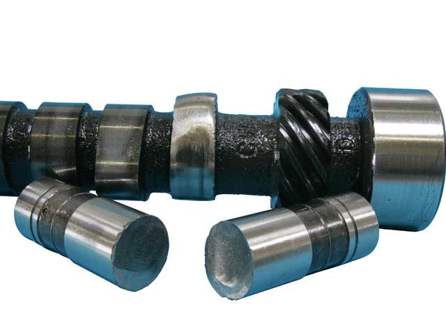 Worn Camshaft and Lifters