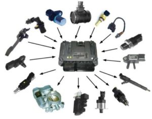 Sensors And Actuators Illustration