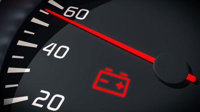 Battery Warning Light On Dash