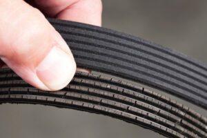 Cracked Serpentine Belt