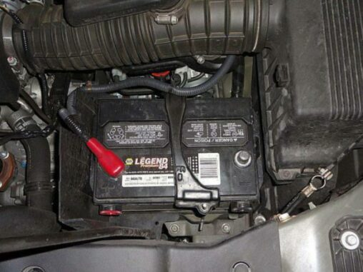 Car Battery - Provides The Power To Run The Starter, Lights, Accessories