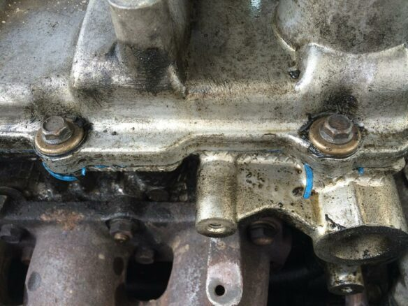 Engine Oil Leaks At Valve Cover