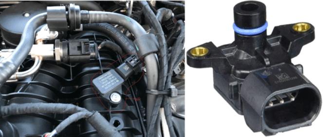 (MAF) Sensor On Engine