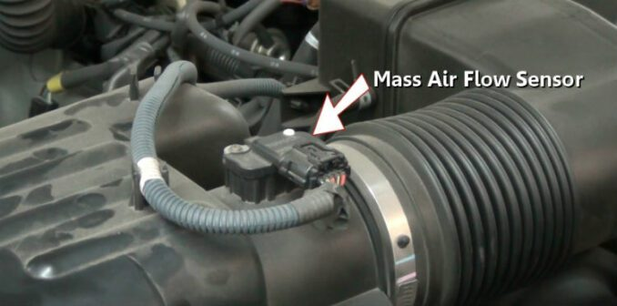 Mass Air Flow (MAF) Sensor Location