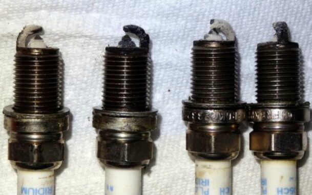 Excessive Oil Fouled Spark Plugs