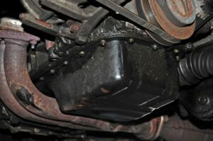 Oil Pan Gasket Leak