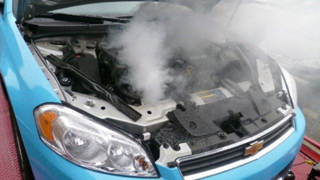Steam Coming From Under Your Hood