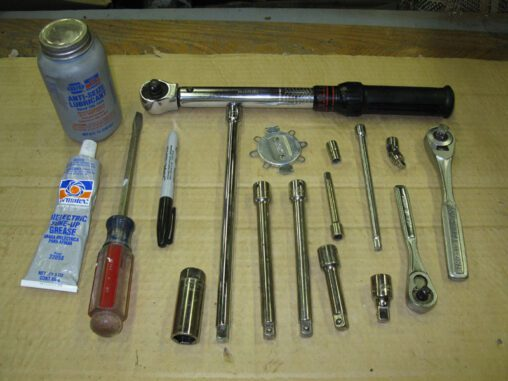 Display Of Spark Plug Replacement Tools