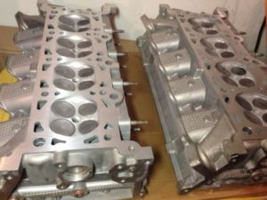 Cylinder Heads With Valve Job Done