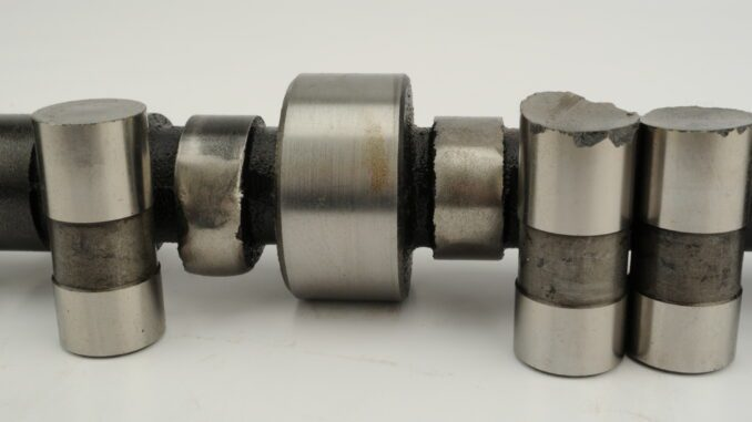 Worn Valve Lifters And Camshaft