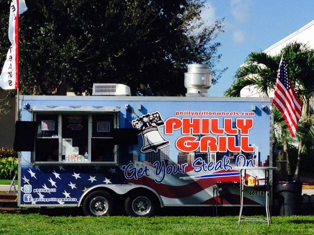 Philly Grill On Wheels Food Truck