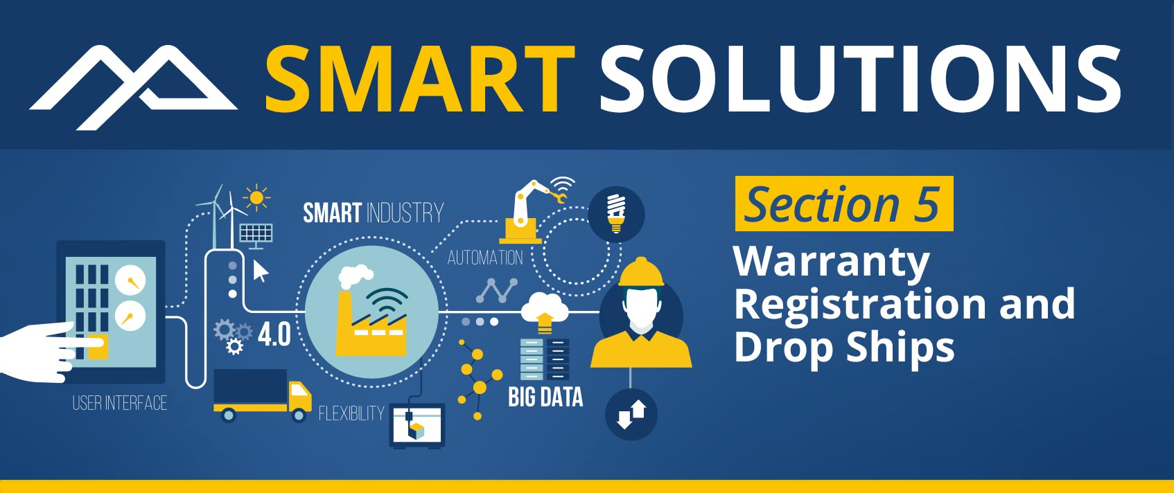Smart Solutions - Warranty Registration and Drop Ships