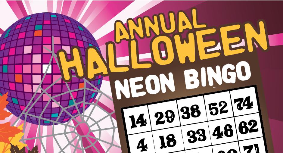 Halloween Neon Bingo: October 19