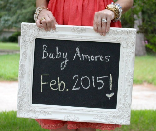 Announcing our February Baby and our IVF experience. Pretty In Her Pearls