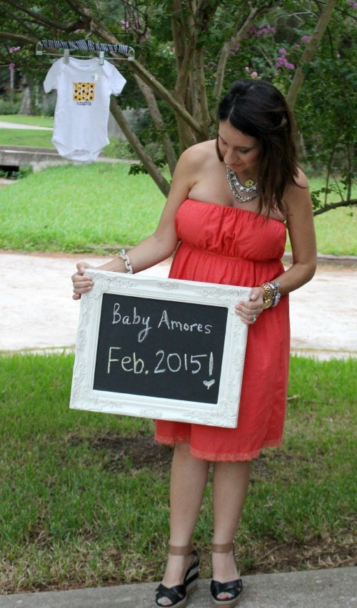 Announcing our February Baby and my favorite UCF Onesie today!!! Pretty In Her Pearls