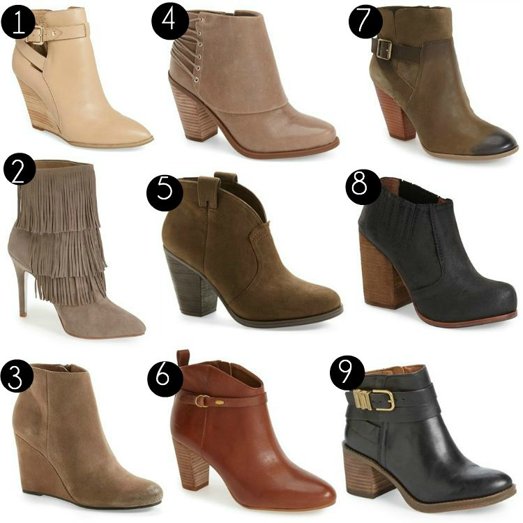 Fall Bootie Styles