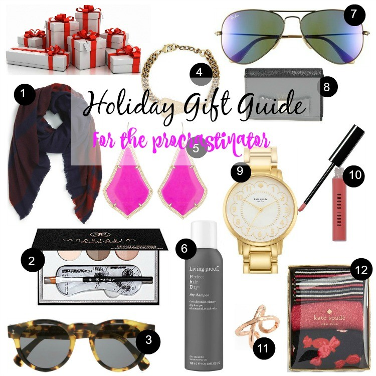 Holiday Gift Guide for the Procrastinator