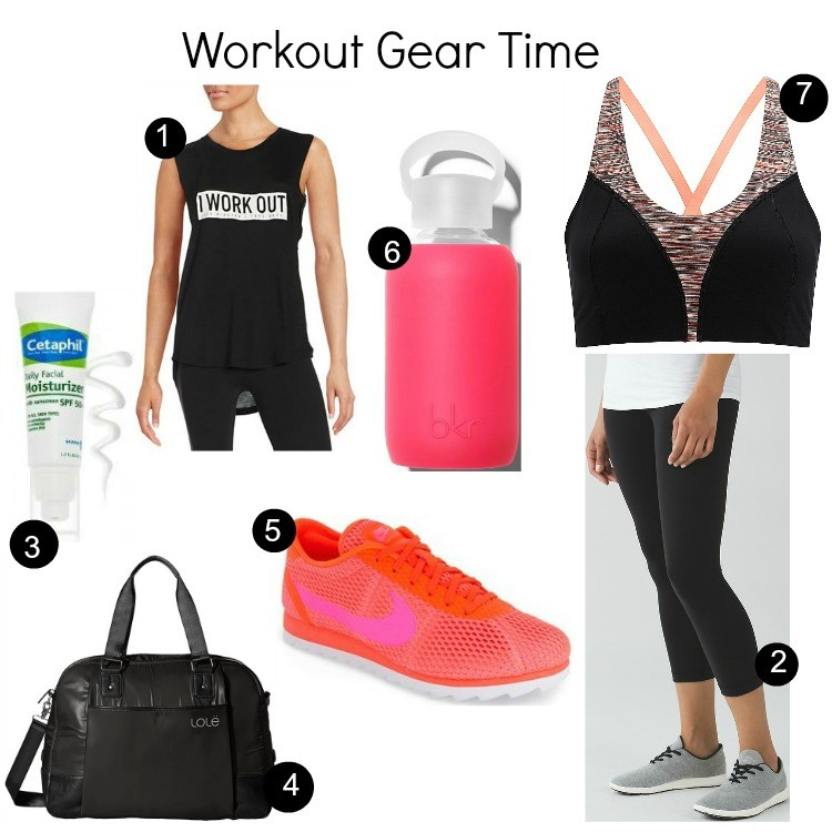 Work Out Gear for summer