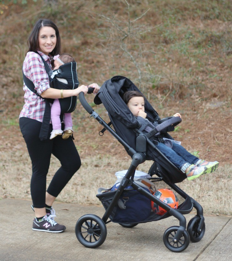 A day out at the park with Evenflo Pivot Travel System + My Review