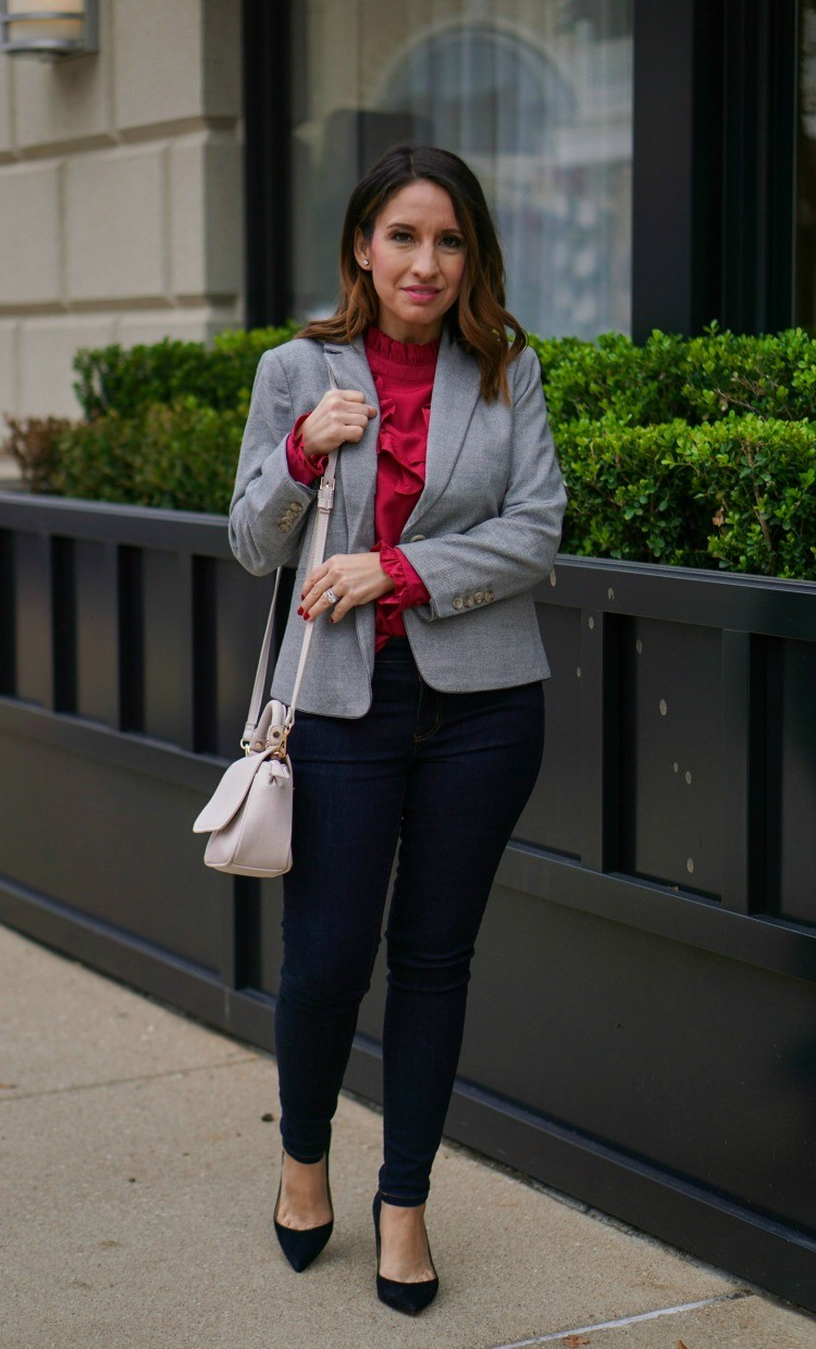 Ann Taylor Holiday Look