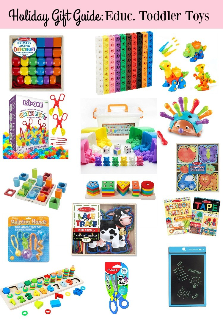 Holiday Gift Guide_Educational Toddler Gifts for boys and girls