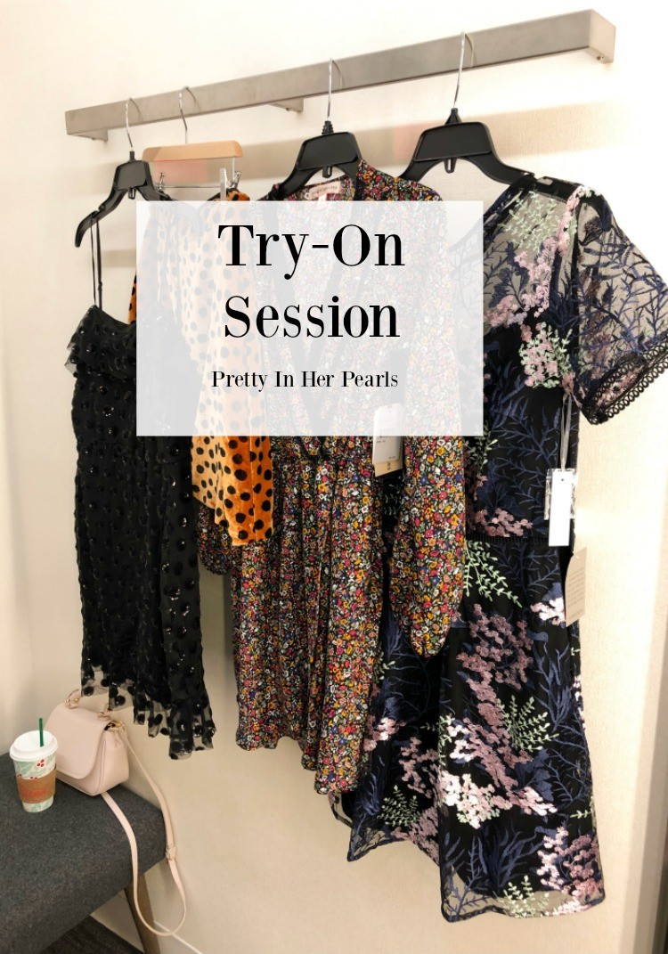 Try-On Session sharing dresses and skirts