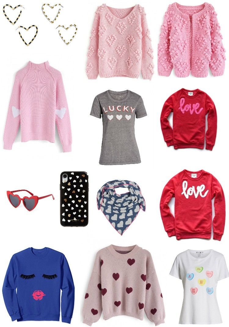 Sweet Valentines Inspired Clothing