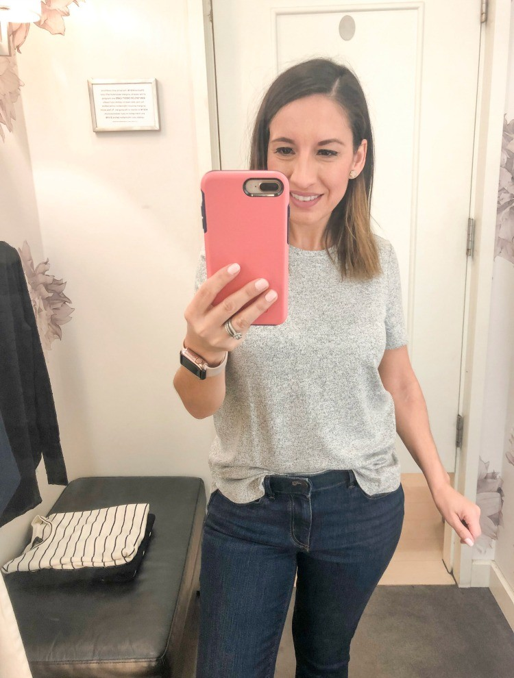 Ann Taylor Spring Try-On Session