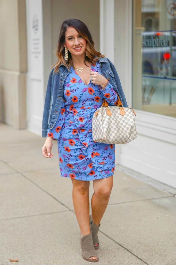 Little Blue Floral Dress + Easter Dress Options