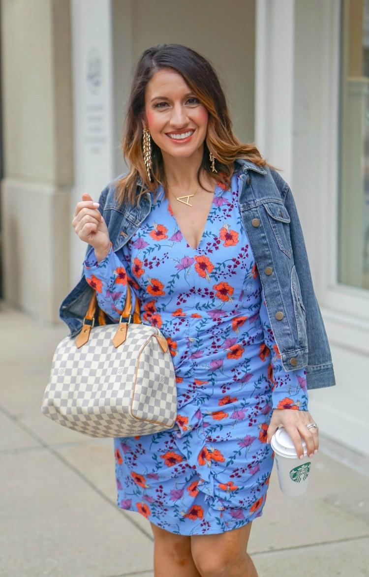 Little blue Floral Dress and Easter Dress Picks