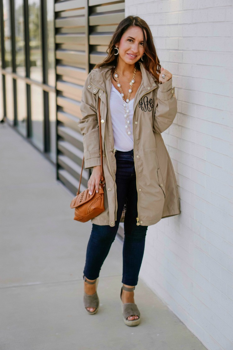 Great Basics and my favorite raincoat