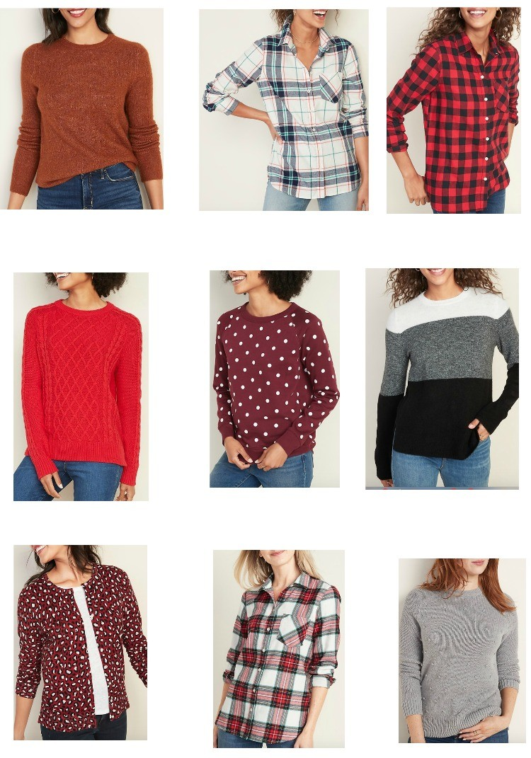 Old Navy Fall Tops and Sweaters