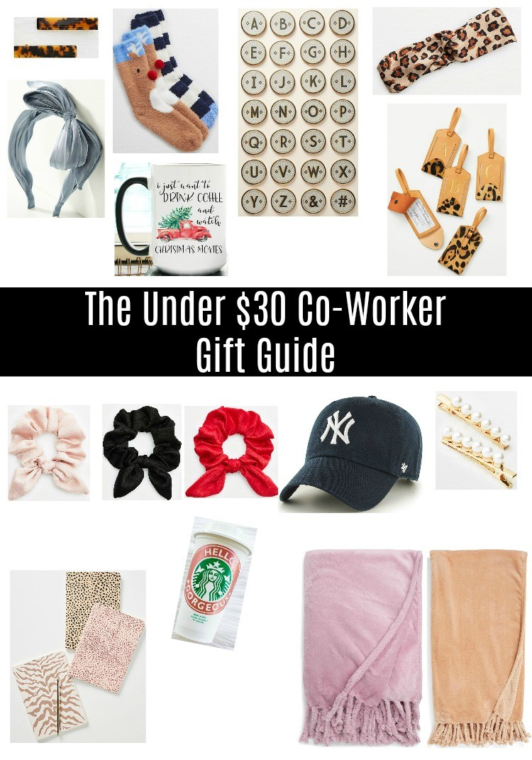 The Under $30 Co-Worker Gift Guide