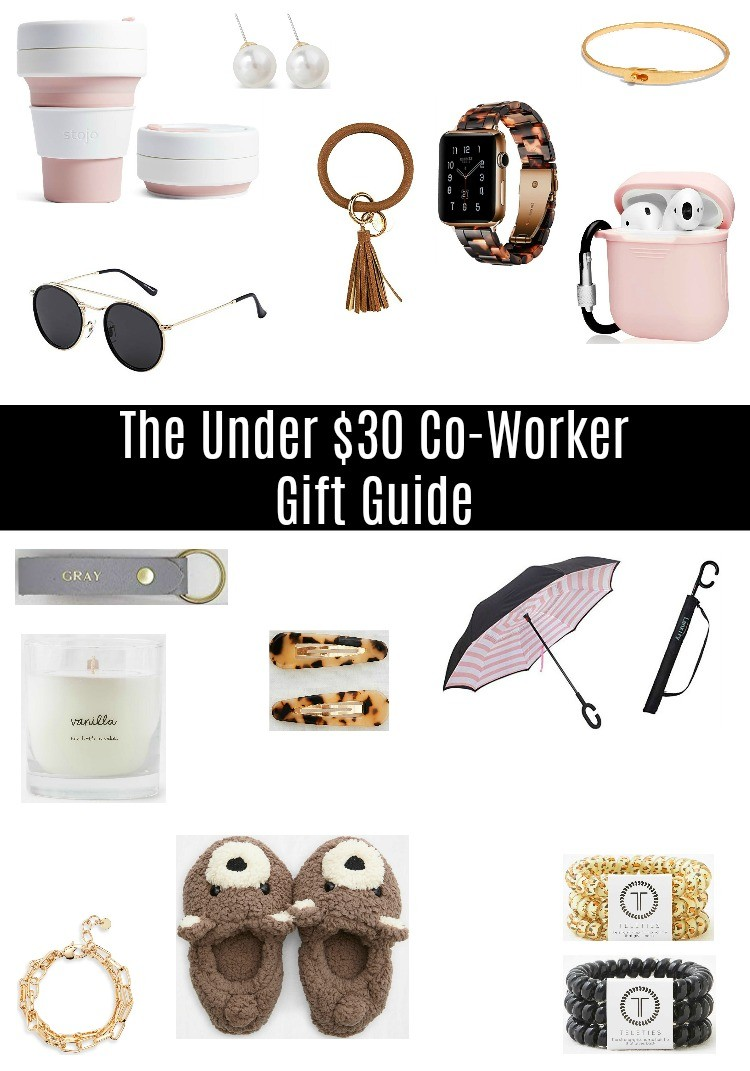 The $30 and under Co-Worker Gift Guide
