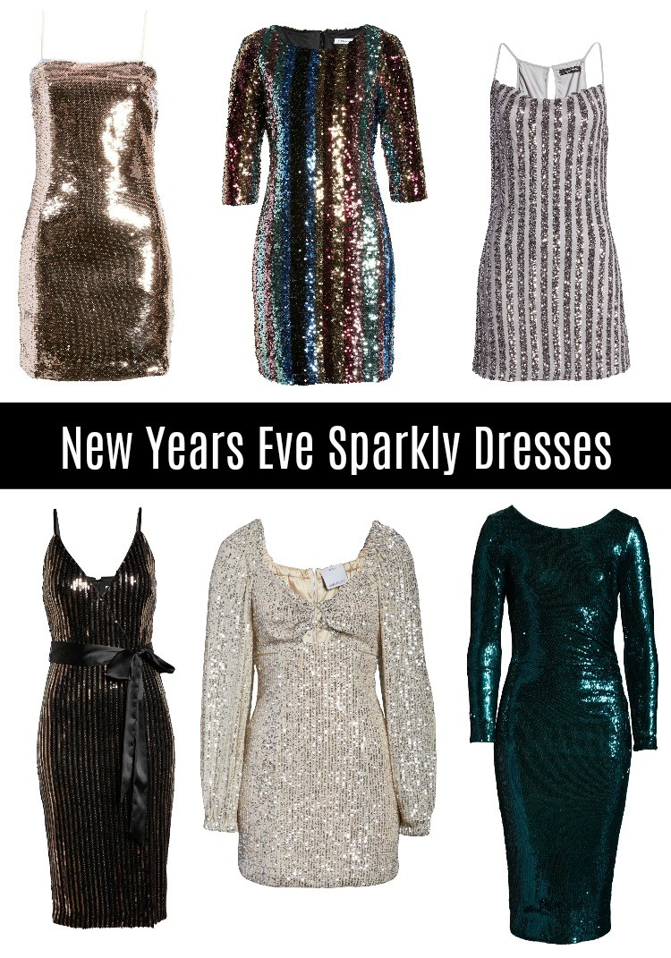 New Years Eve Sparkly Dresses For Her