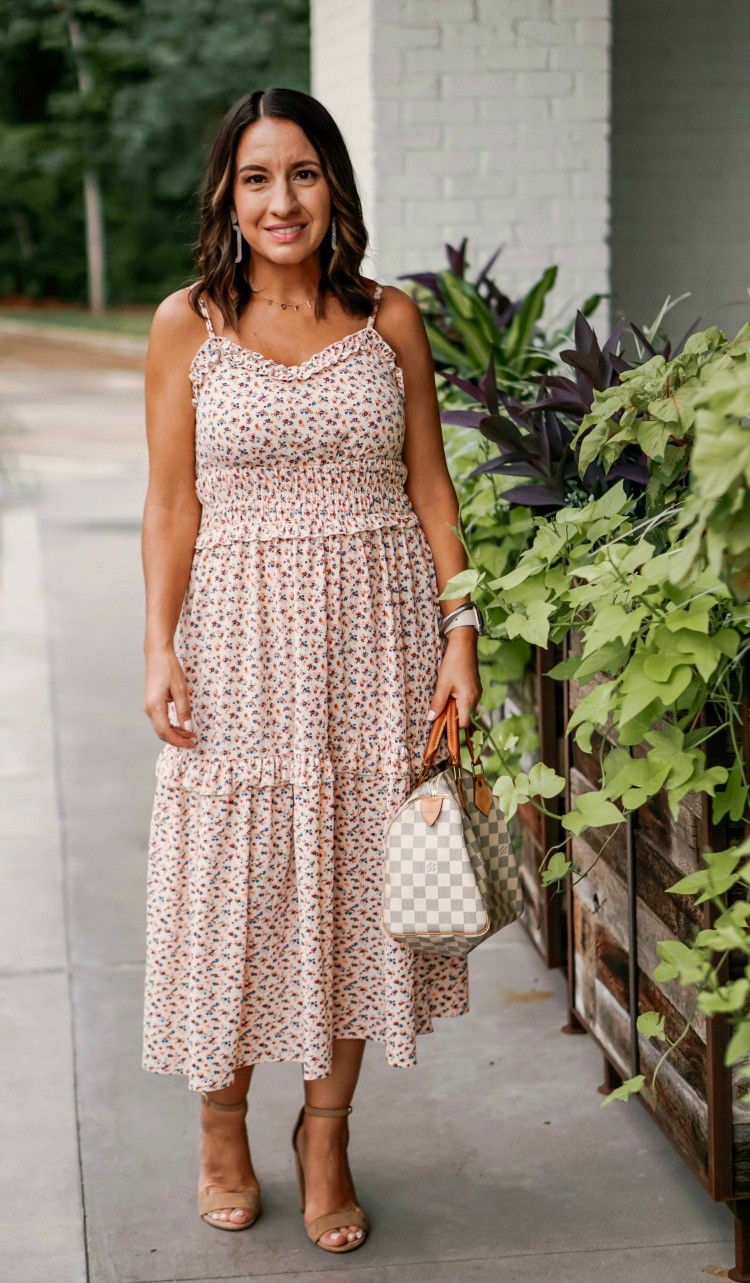 Floral Dress + Giveaway Time