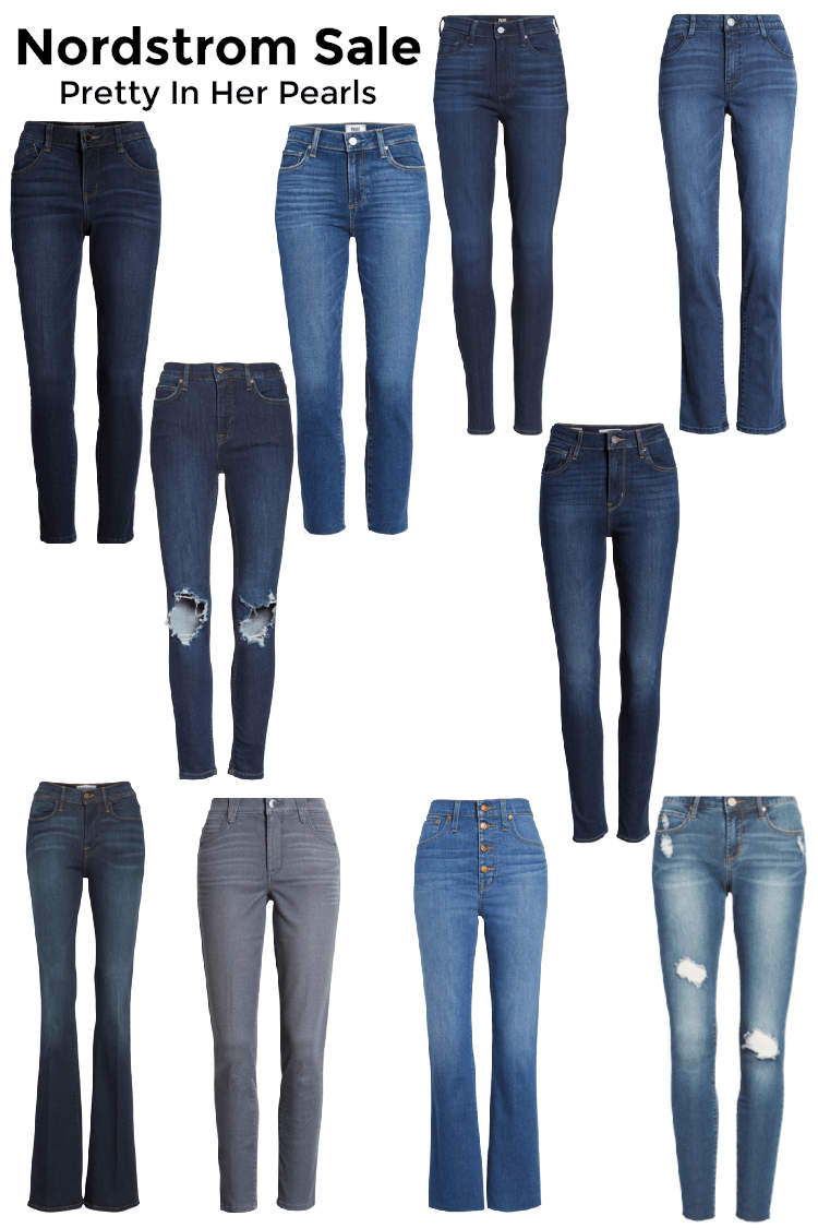Nordstrom Anniversary Sale Denim by Pretty In Her Pearls
