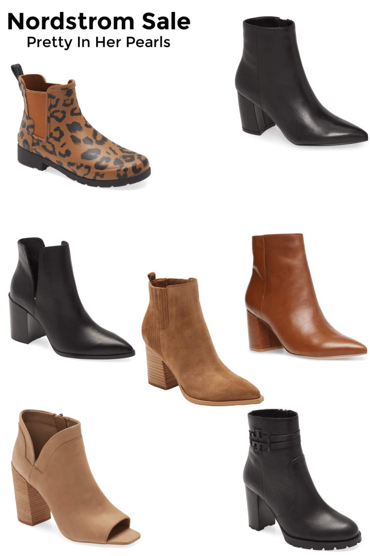 Nordstrom Sale Anniversary Booties by Pretty In Her Pearls