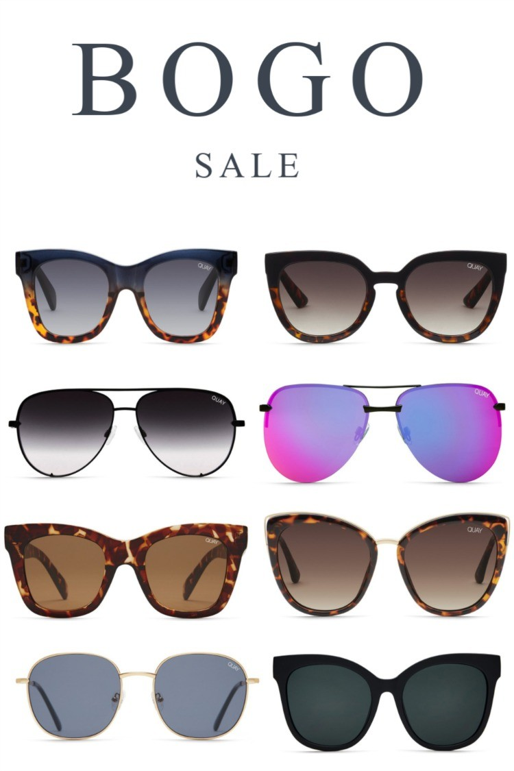 Quay Sunglasses BOGO Sale