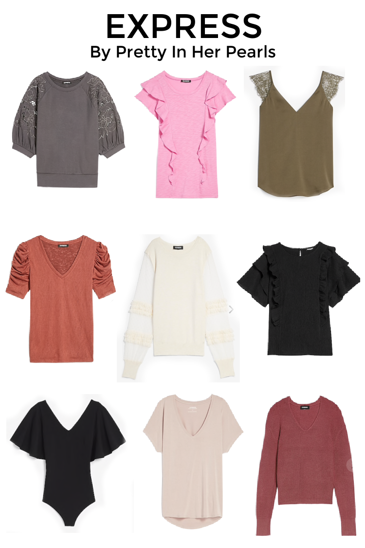 EXPRESS Sale Tops and Sweaters