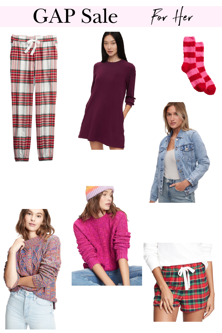2020 Gift Guide GAP Sale Favorites
