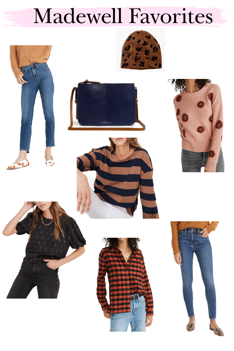 Favorites from Madewell with curbside pick up