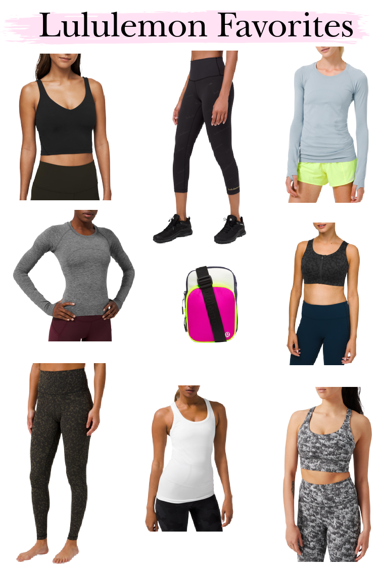 Lululemon Favorites curbside favorites