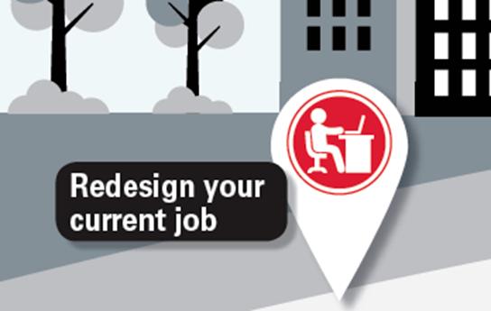 Hidden Job Market Redesign your current job