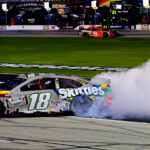 Kyle Busch Snaps 2020 Winless Streak After 72-Hour Rain Delay in Texas