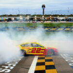 Logano Locks In To Final 4 With Kansas Victory