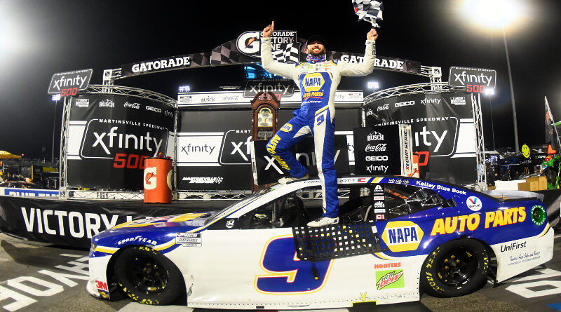 Elliott Locks into Final 4 with Walk-Off Win at Martinsville