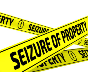 seizure of property